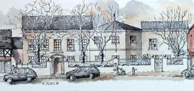 Carlton House, Conservative Club, Merrial Street