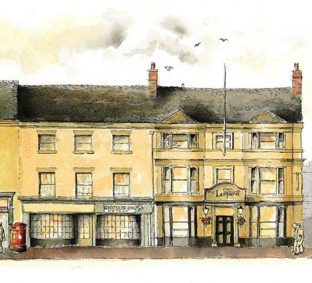 The Leopard, Grade 2 listed 18thc inn