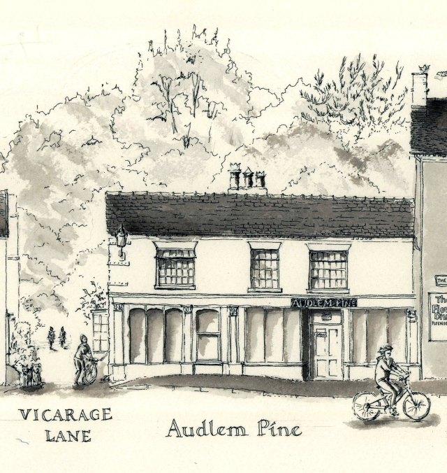 Audlem Pine, The Square