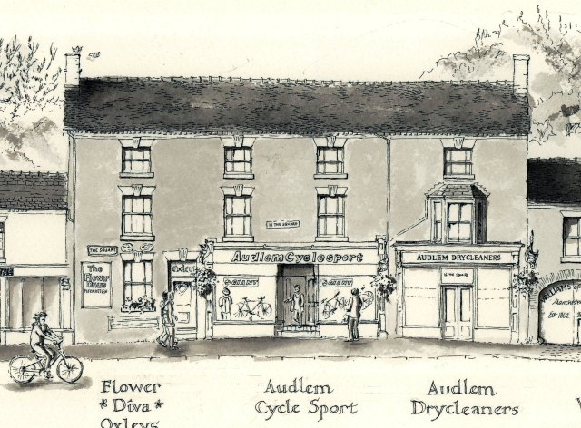 Audlem Cycle Sports, Flower Diva and Audlem Dry Cleaners