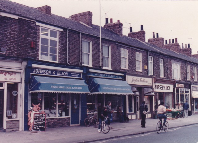 Johnson and Elson, now home to Age UK and Lala Quila, photo courtesy of Rob Stay and Clements Hall Local History Group