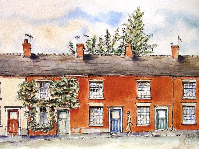 16, 18 and 20 Stone Road, Eccleshall