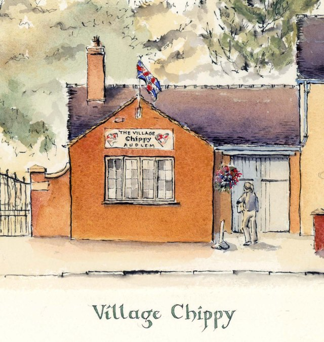 Audlem Cheshire Street Chippy