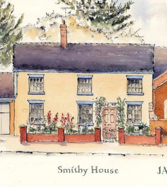 Audlem Cheshire Street Smithy