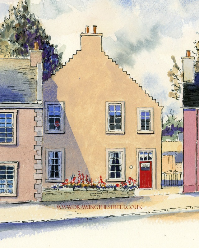 6-38-Broomgate-Lanark-ronnie-cruwys-drawing-the-street.jpg