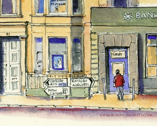 7-bank-of-scotland-people-ronnie-cruwys-drawing-the-street