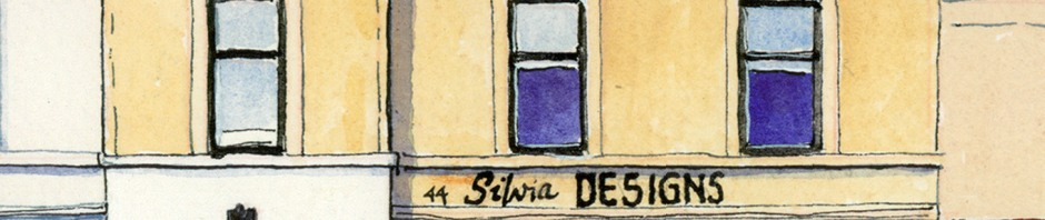artwork by ronnie cruwys of silvia designs wellgate lanark