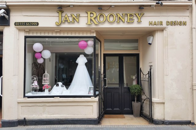 jan rooney hair design lanark ronnie cruwys